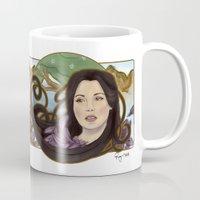regina mills Mugs featuring regina nouveau by raynall