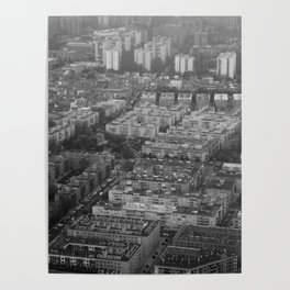 Suburbs in Madrid Poster