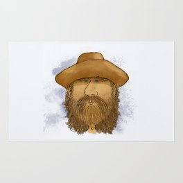 Flynt Locke, Cowboy Mountain Man Rug
