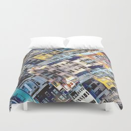 Apartments In The City Duvet Cover
