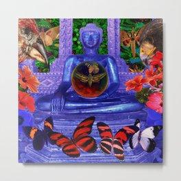 Reaching Nirvana Gautama Buddha Metal Print