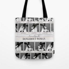 Dangerous Woman Drawings Design Pattern Tote Bag