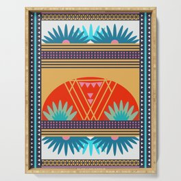 Multi Geometric Love Serving Tray