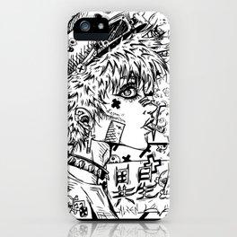 Anime Rock girl iPhone Case