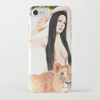 girl power iPhone & iPod Cases featuring Girl Power by Beth Michele