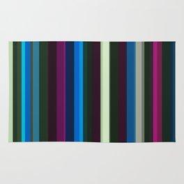 Vertical stripes Rug