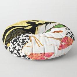 under japanese influence Floor Pillow