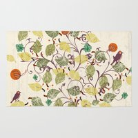 autumn Area & Throw Rugs featuring Autumn by Kakel