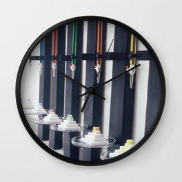 Relativity Clocks Wall Clock