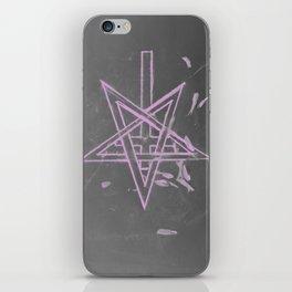 Unholy in Pink Sigil iPhone Skin