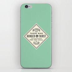 Hunger & Thirst iPhone & iPod Skin