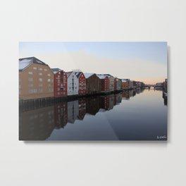 Norwegian reflections Metal Print