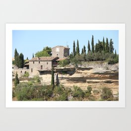 The South of France Art Print