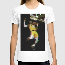 Glitch Lebron T-shirt