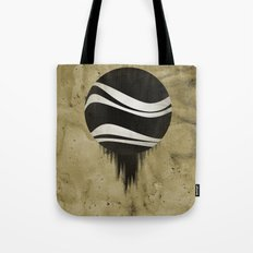 Contained Wave Tote Bag