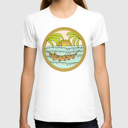 peaceful hammock life T-shirt