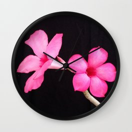 LOVE IS A PAIR Wall Clock