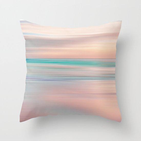 SUNRISE TONES Throw Pillow