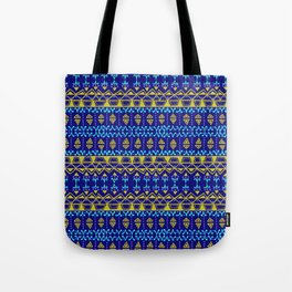 Boho Electric Tote Bag