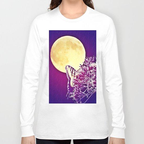 Night Wings Long Sleeve T-shirt