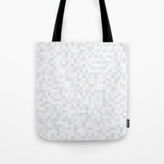White Cubism Tote Bag