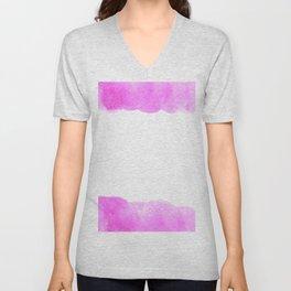 pink frame Unisex V-Neck