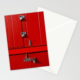 Red Cabinet Stationery Cards
