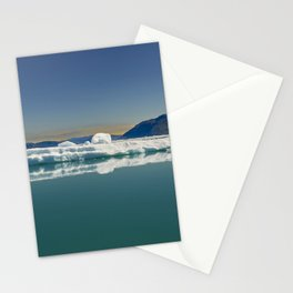 Ice in the Godthåbsfjord, Greenland Stationery Cards