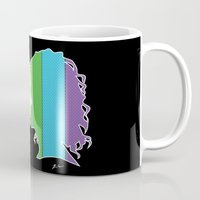lesbian Mugs featuring Lesbian Love  by Winter Graphics