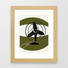 Retro Fan Art Print,Print,Fan illustration,Modern Art Print,Wall Art Framed Art Print