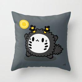 Halloween series - Werewolf Bink Bink Throw Pillow