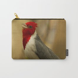 Red Crested Cardinal Carry-All Pouch