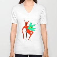 diablo V-neck T-shirts featuring diablo by yogib33r
