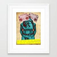 radio Framed Art Prints featuring Radio by gamunev