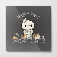 Hairy Baby Daycare Center (All chibi) Metal Print