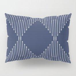 Geo / Navy Pillow Sham