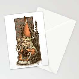 Gnome Queen Stationery Cards