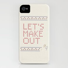 Let's make out Slim Case iPhone (4, 4s)