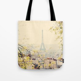 from atop the hill ... Tote Bag