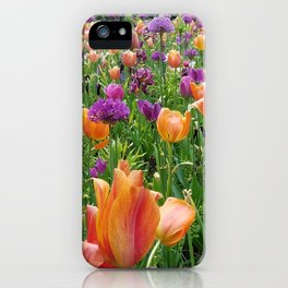 A Sunset in Bloom iPhone Case