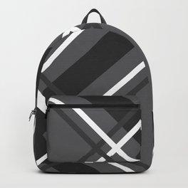 Jumbo Scale Men's Plaid Pattern Backpack