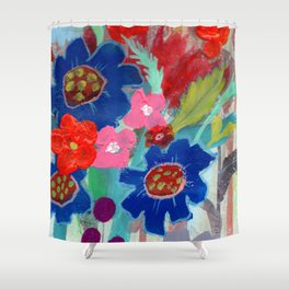 Fit Flowers Shower Curtain