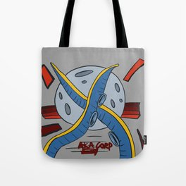 The octopus attack Tote Bag