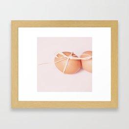 sweet little egg Framed Art Print