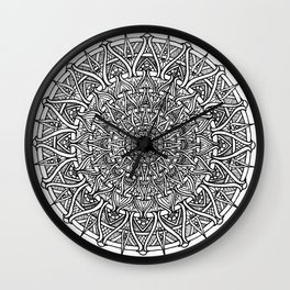 May your inner self be secure and happy Wall Clock