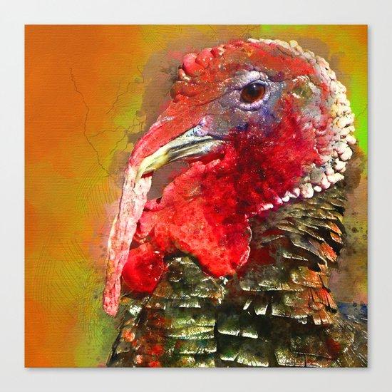 Thanksgiving Turkey, Turkey Painting, Turkey Art, Thanksgiving Decor, Turkey Animal, Turkey Art, Canvas Print