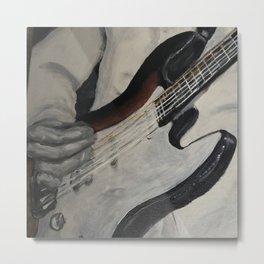 guitar onstage Metal Print