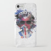 deadmau5 iPhone & iPod Cases featuring Queen Listen Music by Sitchko Igor
