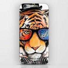 tiger nerd iPhone & iPod Skin