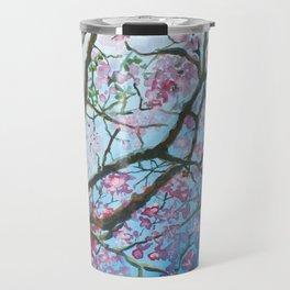 Pink Poui Travel Mug